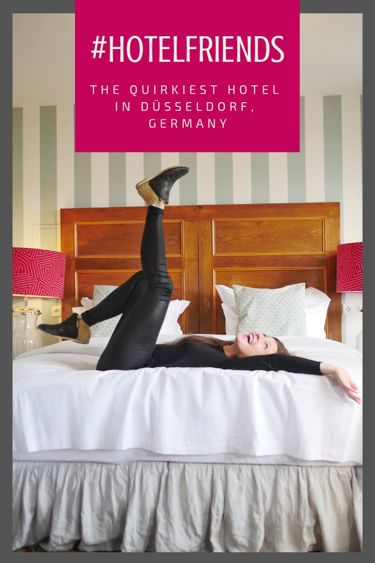 #hotelfriends: the quirkiest hotel in Düsseldorf, Germany