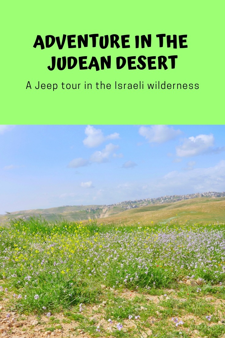 Adventure in the Judean Desert - A Judean Desert Jeep Tour with Abraham Tours