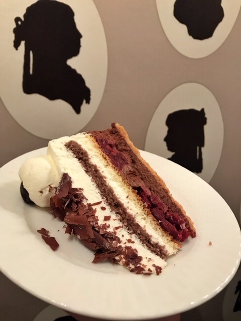 Black forest cake in Baden-Baden