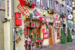 Christmas Market River - Colmar