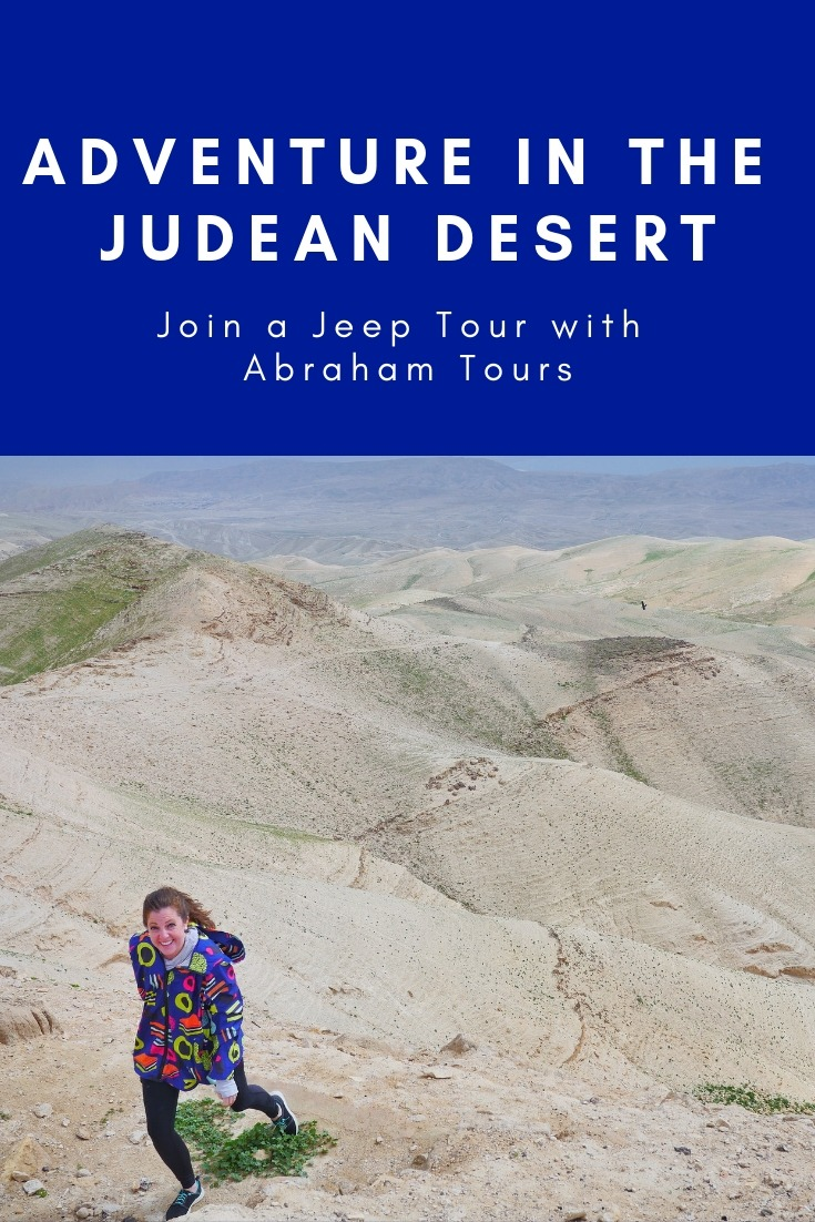 Judean Desert Tour - Abraham Tours' Israel Jeep Tours bring you into the desert