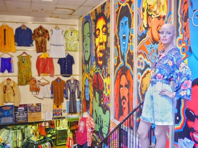 Retrostar Vintage Clothing Melbourne CBD storefront