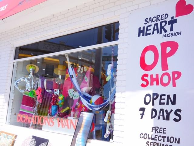 Sacred Heart Op Shops Melbourne storefront