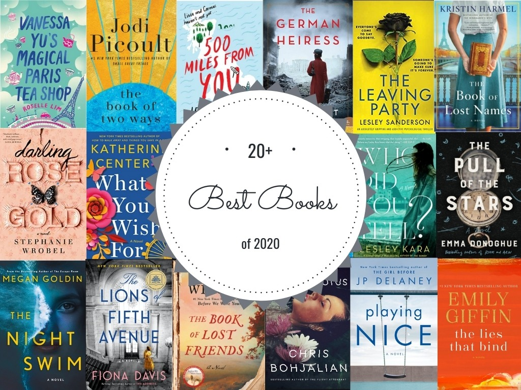 20+ best books of 2020